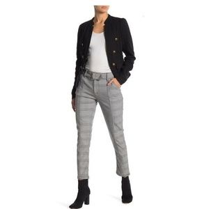 Free People Skinny Pants houndstooth Size 2 2615